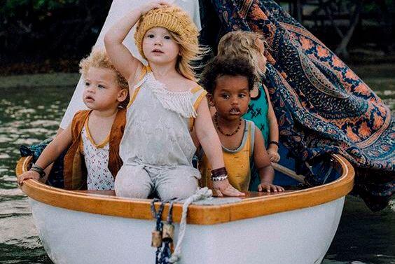子どもたちの船