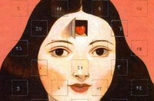 顔のカレンダー