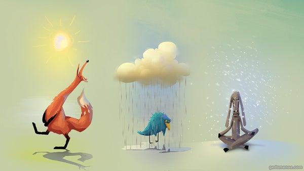 楽観、悲観、無の精神