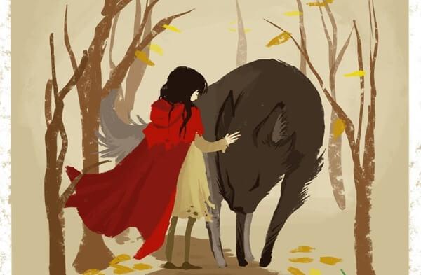オオカミと赤ずきんの仲直り