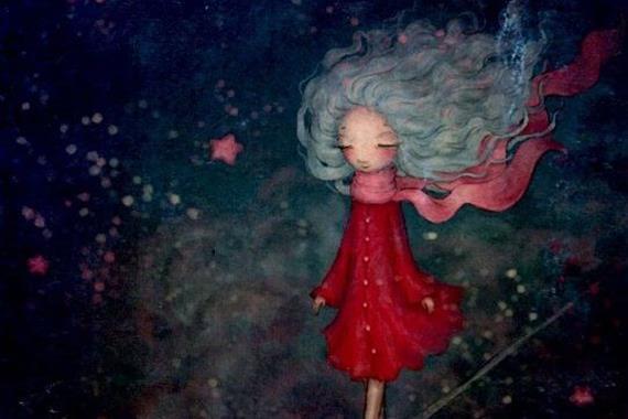 星の中の少女