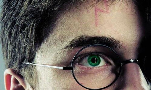 ハリーポッターの傷