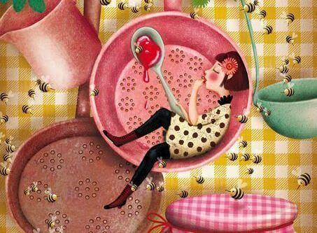 ハチミツと女の子