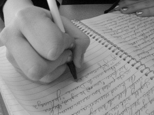 手書きのノート