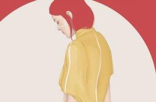 赤髪の女性