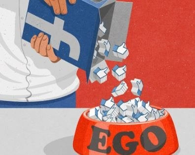 エゴに油を注ぐフェイスブック