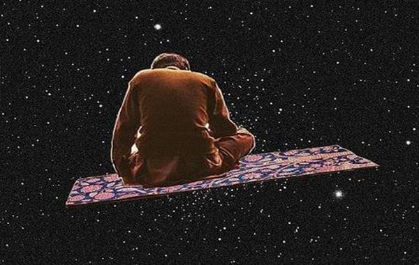 宇宙を飛ぶ絨毯