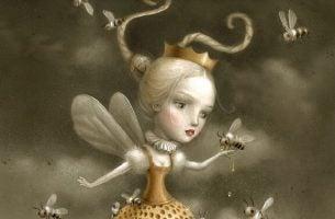 蜂のお姫様