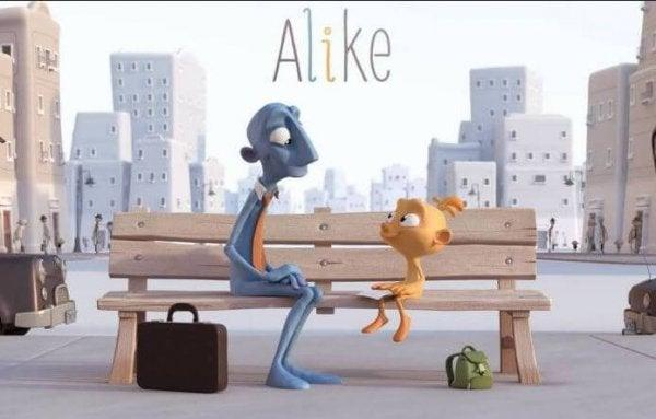 ショートフィルム「Alike」:失われていく子供たちの創造性