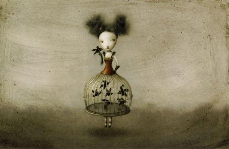 鳥かごの少女