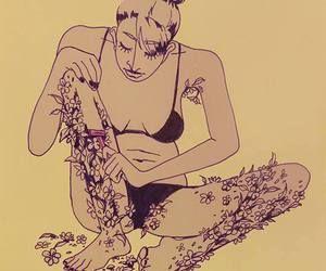 植物のムダ毛を剃る人