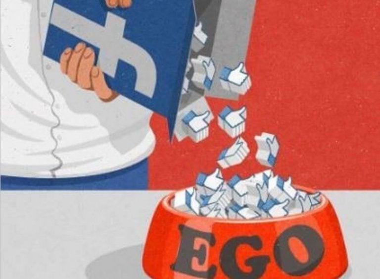 エゴを高めるフェイスブックの「いいね!」