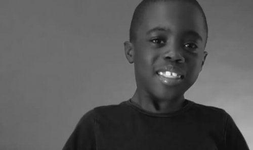 黒人の男の子