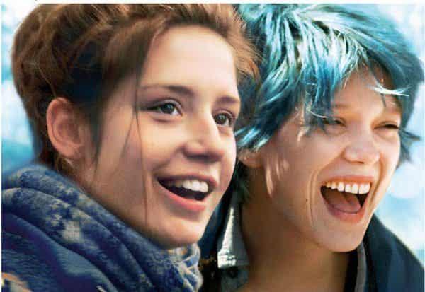アデル、ブルーは熱い色:愛の二面性