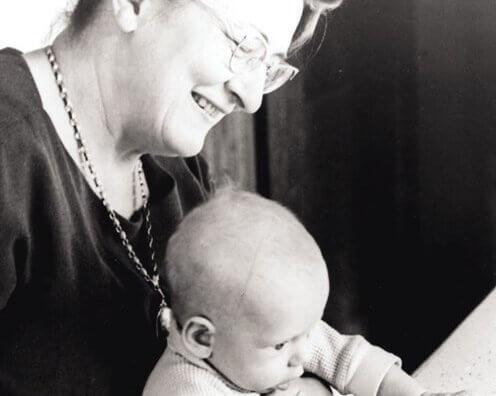 メアリー・エインズワースと赤ちゃん