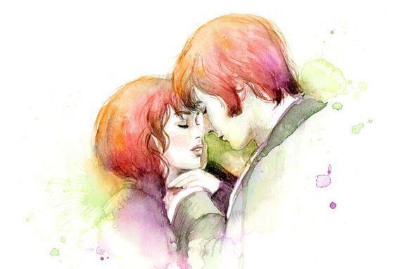 ロマンチックな二人の瞬間