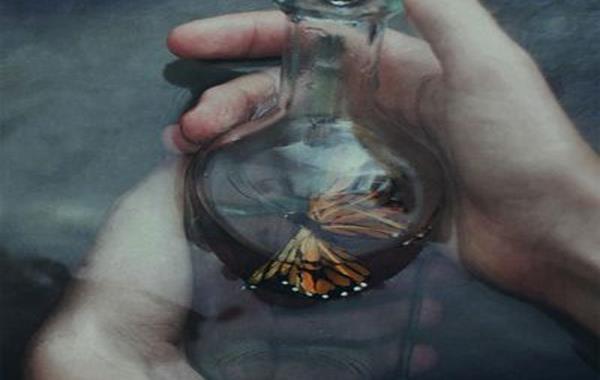 ボトルの中の蝶