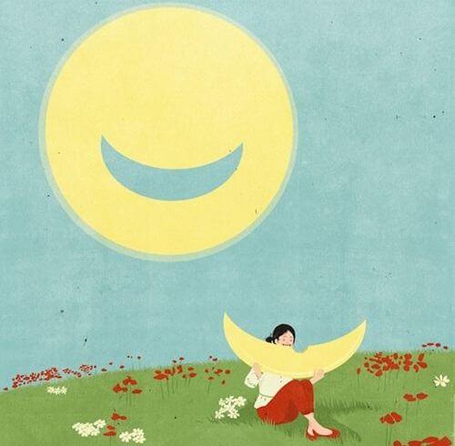 笑顔の太陽