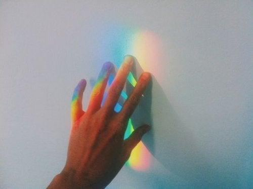 7色の反射