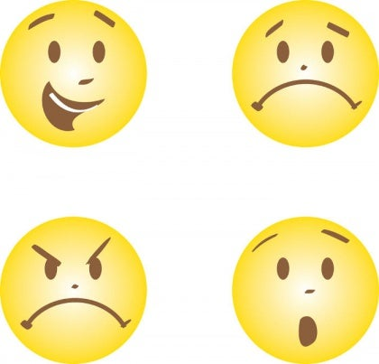 喜怒哀楽の顔