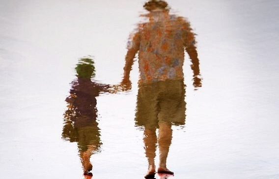 父親と子供