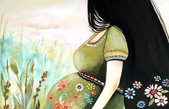 妊娠: まだ見ぬ人を愛すること