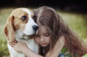 イヌと子ども
