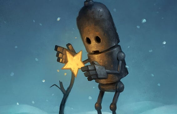 星を育てるロボット