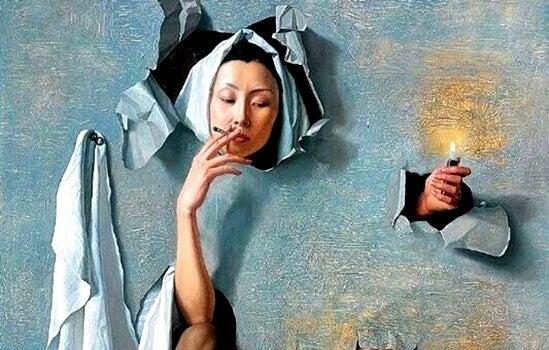 喫煙習慣の裏に隠されていること