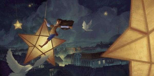 星に乗る少女