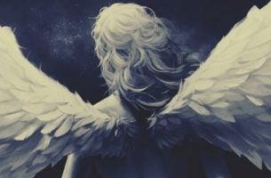 翼のある女性