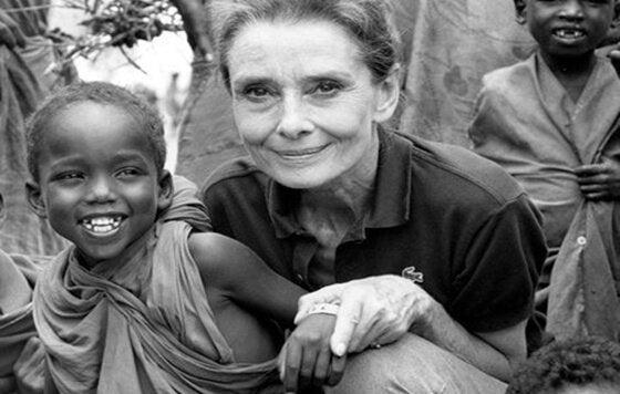 オードリー・ヘップバーンとアフリカの子ども