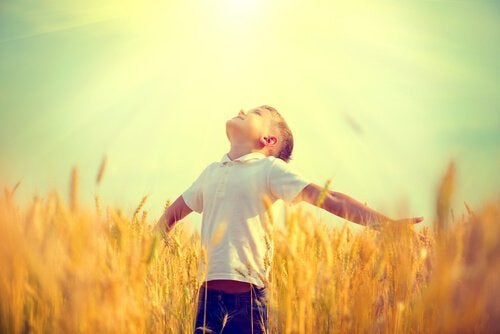 麦畑の少年