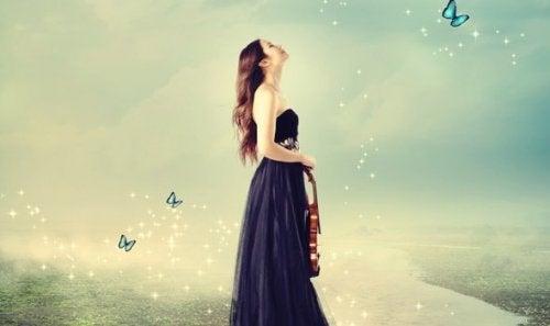 バイオリンと少女