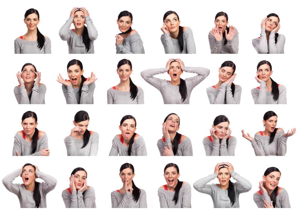 女性の感情表現