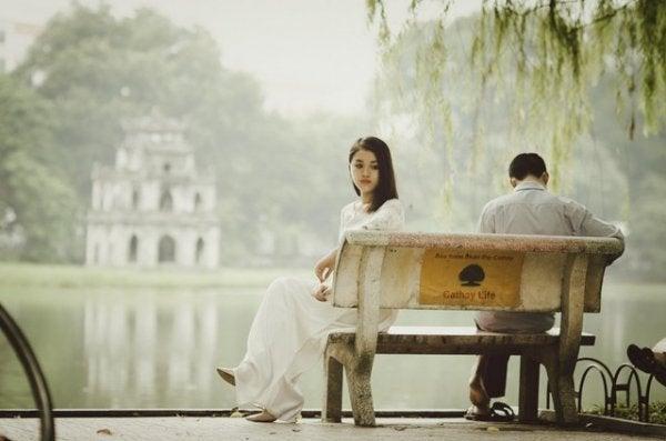 公園ーカップル