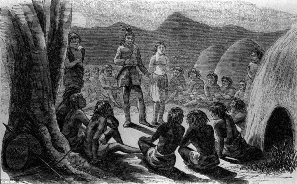 オートマンとインディアン