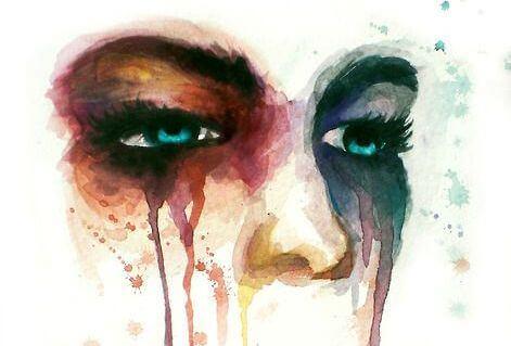 悲しみの顔
