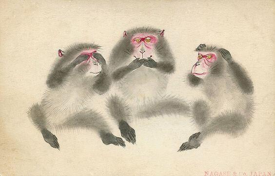 東照宮三猿の教え