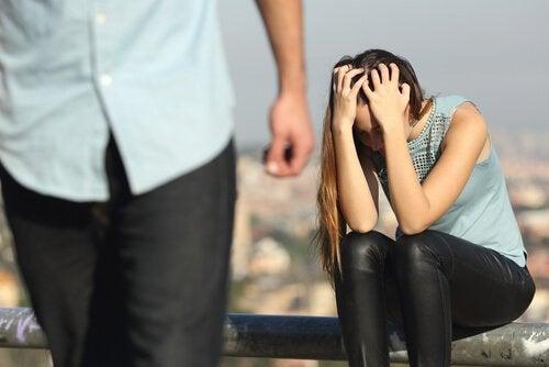 恋愛関係における嫉妬の狂気