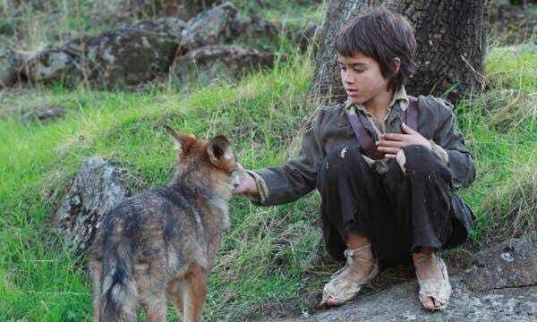オオカミとの生活:野生の少年の物語