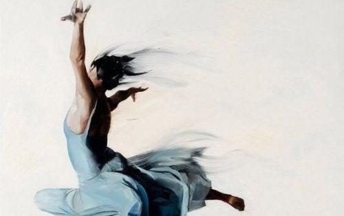 現代的ダンサー