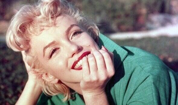 マリリン・モンロー笑顔