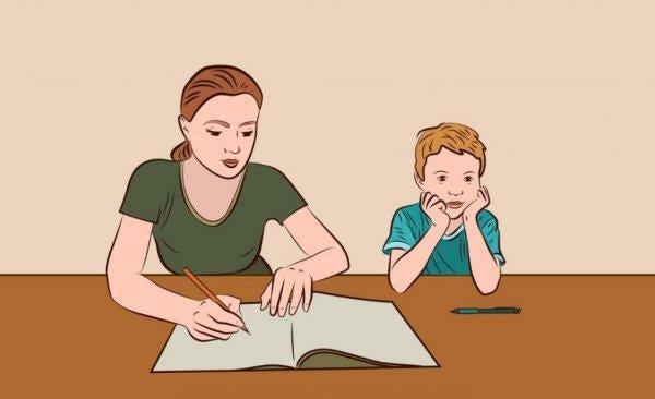 「お母さん、宿題手伝って?」 正しく行うための 5つのヒント