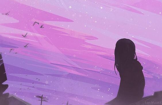 少女が考える夜