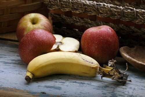 バナナーリンゴ