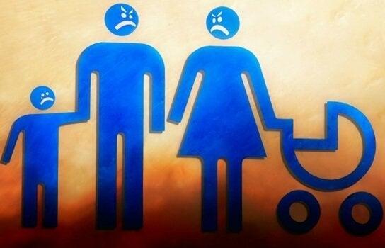 機能不全家族:成長の阻害