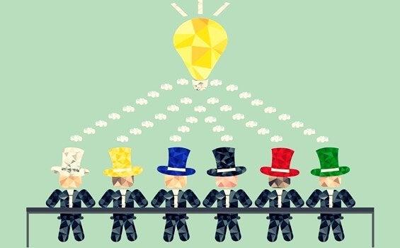 エドワード・デボノの「6つの帽子思考法」