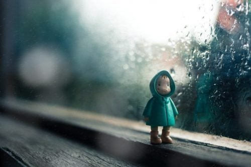 子どもの人形