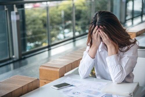 仕事恐怖症:仕事ができない